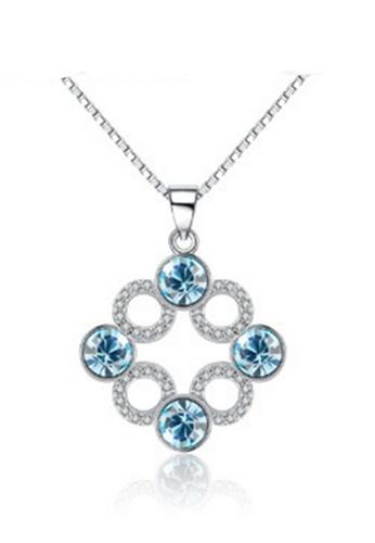 LYCKA silver LPP88071 S925 Silver Necklace 462B3AC9C44F75GS_1