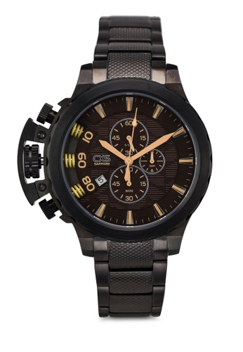 Carlo Cardini black Carlo Cardini CX5 005G-GM-9 Gents Watch CA038AC57LDUMY_1