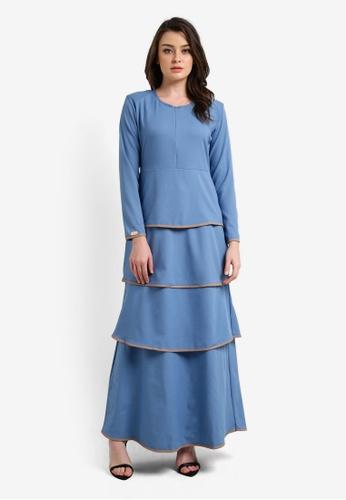 JubahSouq blue Valeria Dress 2.0 JU399AA0RTR4MY_1