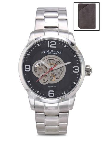 Stuhrling Original silver Delphi 648B Watch 2DB15ACAD751CAGS_1