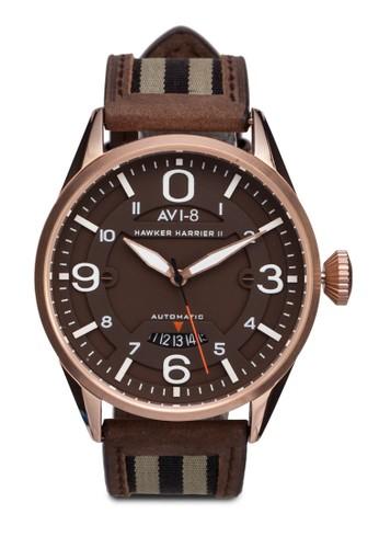 Hawker Harrier II 皮革腕錶, 錶類, 錶esprit 京站類
