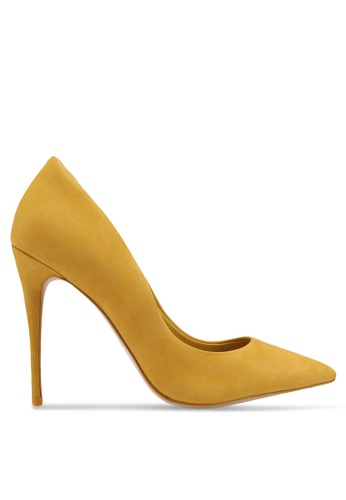 ALDO yellow Stessy Heels F5F8DSH54FFA56GS_1