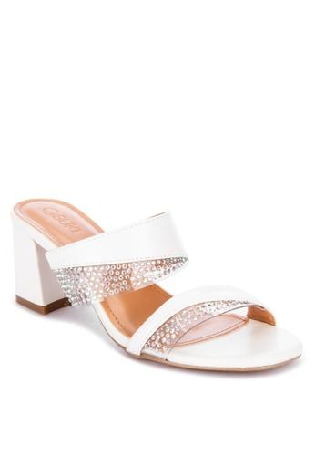 Suki white Heeled Slides A20BESHE518A53GS_1