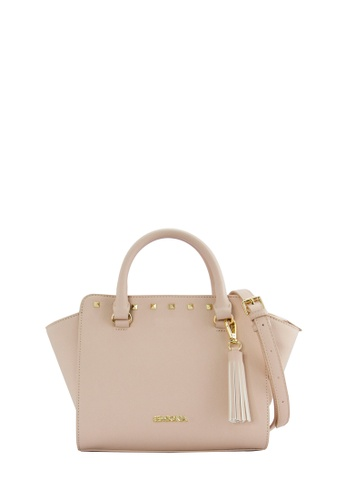 ce8d3b19432c SEMBONIA pink Synthetic Leather Satchel Bag (Pastel Pink) E3A08ACA8AF1BEGS 1