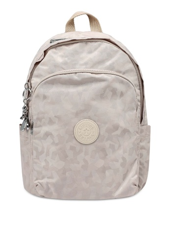 Kipling beige DELIA Cloud Jq Backpack 26B91AC8FDE9D9GS_1
