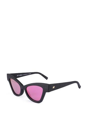 Le Specs black Hourgrass 2029516 Sunglasses D2AC2GL615D3F1GS_1
