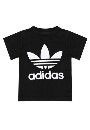 ADIDAS black adidas originals trefoil tee 7BD9FKA5F9CA22GS_1
