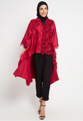 LUIRE by Raden Sirait red Naura Tuxedo B3C9AAA08B0EA7GS_1