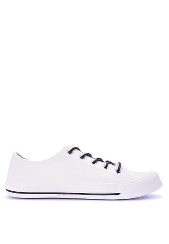 Krooberg white Retro Mens Sneakers 79BCCSHAB8E164GS_1