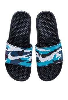 brand new df644 bba78 Shop Nike Sandals & Flip Flops for Men Online on ZALORA ...