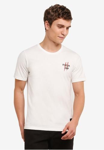 Flesh IMP 白色 FLMP Tee Claw T-Shirt FL064AA0S5U7MY_1