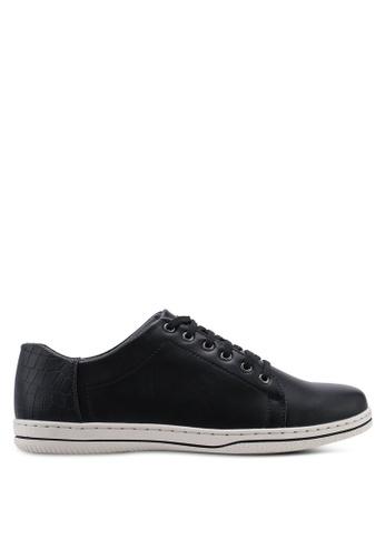 Carlton London 黑色 Duo Colour 運動鞋 CBDC5SH38CF75CGS_1