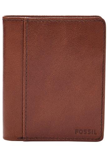 Fossil brown Mykel Wallet SML1805210 DB04FAC63411E2GS_1
