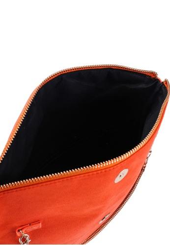 85ad77e9d6 Buy Dorothy Perkins Orange Foldover Clutch Bag Online | ZALORA Malaysia