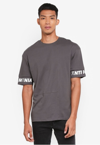Jack & Jones grey Africa Tee 68770AA8AEDE87GS_1