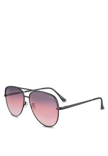 Quay Australia black SAHARA Sunglasses 5BD22GL4C1AD4AGS_1