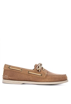 bf8965be30fc Sperry brown Authentic Original 2-Eye Richtown Boat Shoes 1D5D4SHB71FAA0GS 1