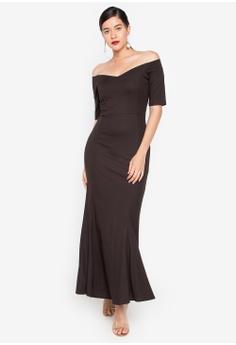 61897dfa6cd Daria black Alessia Off Shoulder Sweetheart Gown 90553AA8CDEF48GS 1