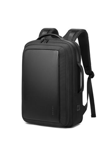 Golden Wolf black Bange Kome Expandable Laptop Backpack 3514BACBF96064GS_1