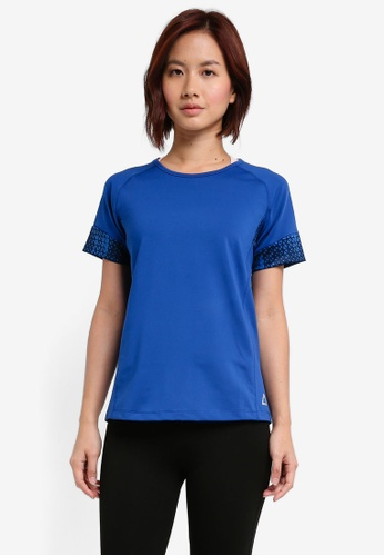 AVIVA blue Short Sleeve Shirt EBD83AAA6FC272GS_1