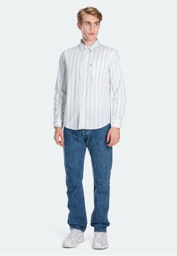 Levi's blue Levi's Classic One Pocket Shirt 85748-0006 6A1D7AA296E5EBGS_1