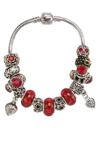 心形吊飾雕刻寶石手環esprit門市地址, 飾品配件, 手鐲 & 手環