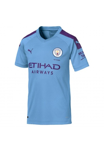 Buy Puma Man City Short Sleeve Kids Home Replica Jersey Online Zalora Malaysia