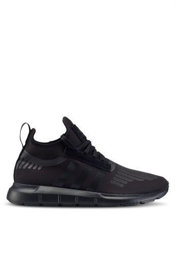 adidas black adidas originals swift run barrier sneakers A2171SH2D62BFFGS 1 ef739208bfadb