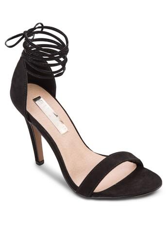 Ontaro 繞踝繫帶高跟涼esprit outlet 高雄鞋, 女鞋, 鞋