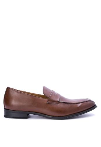 Mendrez brown Oliver Formal Shoes ME992SH0KFLGPH_1