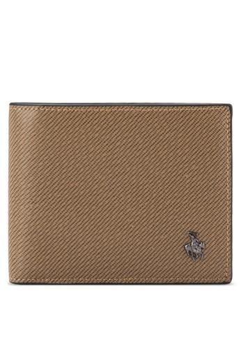 Swiss Polo 品牌徽章條紋錢包, 飾品配件, esprit 品牌非皮革