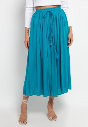 SUNDAYS green Circle maxi Skirt 68E8DAA4151A5DGS_1
