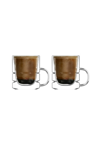 Crysalis n/a Espresso Cup Double Wall  80ml - 2.7oz Set of 2 CD444HL12074C8GS_1