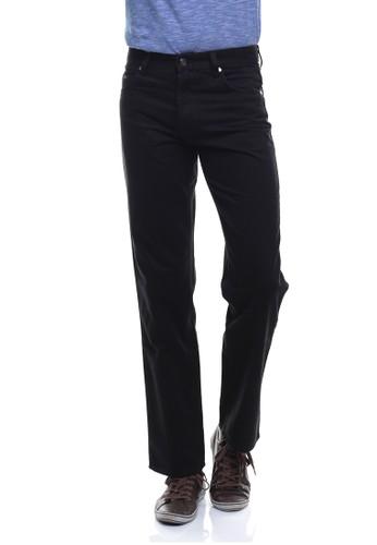 LGS black LGS - Regular Fit - Celana Katun - Basic - Hitam LG695AA0VG2UID_1