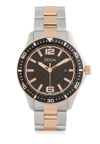 ZECA silver Zeca Watches Men Fashion Stainless Steel Analog - 2014 Rosegold ZE074AC0WDAOID_1