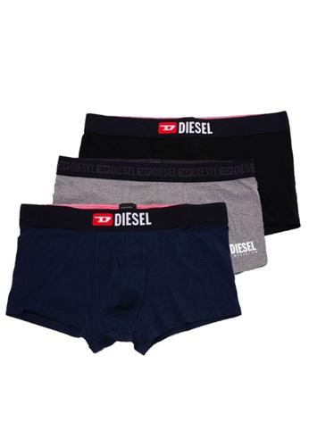 Diesel grey UMBX-DAMIENTHREEPACK BOXERS 12969US498EC9BGS_1
