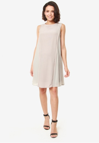 Bove by Spring Maternity grey Evia Dress Grey A0EF8AA6C08409GS_1