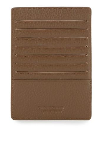 LOMBARDI GIOVANNI brown Multiple Card Holder LO667AC0VRORID_1