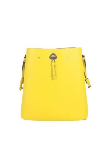 KATE SPADE yellow Kate Spade Large Marti WKRU6827 Bucket Crossbody Bag In Chartreuse DB9B4AC24C5003GS_1