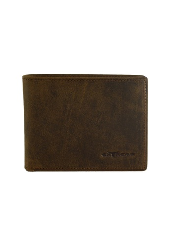 EXTREME brown Extreme Genuine Leather Bifold Wallet (8 Slots) F77B9AC7C3A57CGS_1