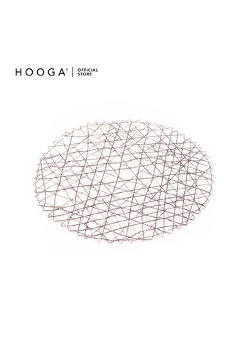 HOOGA silver Hooga Placemat. 80B30HLCDF3169GS_1