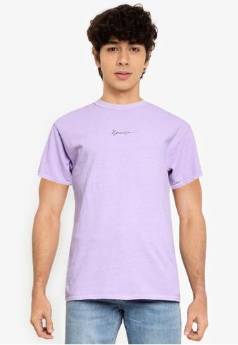 Mennace purple New Paradise Regular T-Shirt F9FD5AA973F8E0GS_1