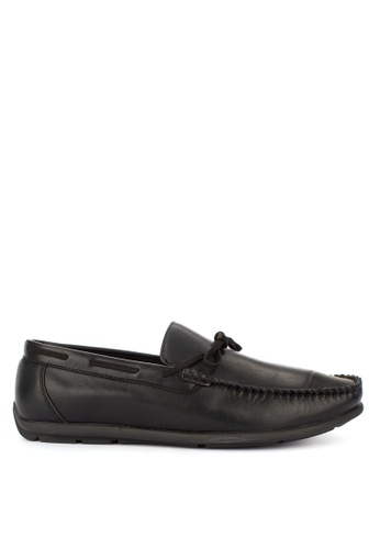 Italianos black Vincent Loafers 91479SH4903A8AGS_1