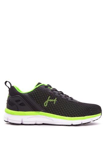 Jump black and green JM-15-2003 Sneakers JU701SH93VOCPH_1