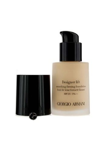 Giorgio Armani GIORGIO ARMANI - Designer Lift Smoothing Firming Foundation SPF20 - # 4 30ml/1oz 57591BE5F5A978GS_1
