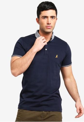 Brave Soul multi Split Hem Polo Shirt 0F537AA4551566GS_1