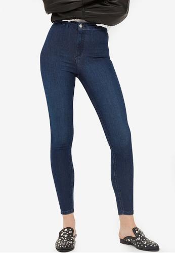 TOPSHOP blue Indigo Joni Jeans C2DA4AA857CDD9GS_1