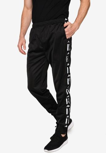 Kappa black Kappa L.A. Banda Pants 17A8BAA3D8E3BAGS_1