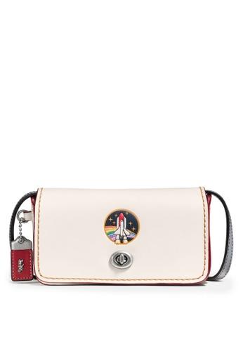 Coach beige Dinkier Crossbody Bag (cv) 62939AC7BBB455GS_1