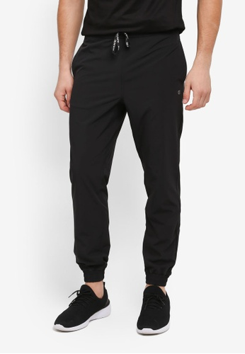 Calvin Klein black Cover Woven Pants - Calvin Klein Performance 8DBBEAA78922A6GS_1